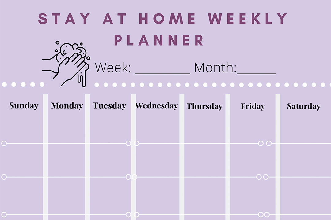 Weekly Planner-Tannan Plastic Surgery